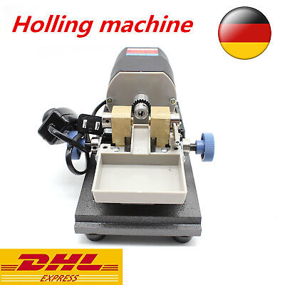 Perle Jewelry Bohrmaschine Pearl Bohrer DIY Drilling Holing Machine Full Set DE
