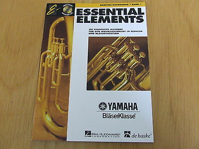 Essential Elements Band 1 mit CD Bariton/Euphonium in C