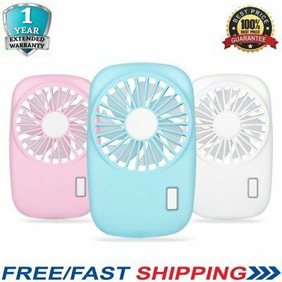 Portable Mini Hand Held USB Rechargeable Mini Air Conditioner Cooler Fan GM