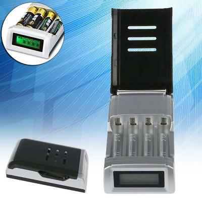 Universal Intelligent LCD Battery Charger Alkaline AAA AA Ni-MH NiCad Battery TH