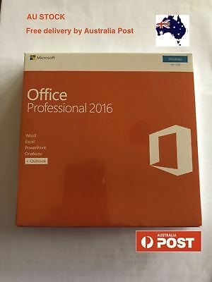 Microsoft Office Professional 2016 Perpetual Product Key With DVD for 1 PC