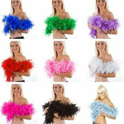 Fluffy Flower 1pcs Craft Costume Feather Boa Home Decor Dressup Wedding Party