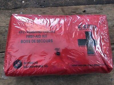 BMW car first aid kit new and sealed genuine accessory