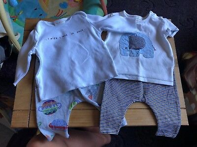Unisex Two Baby Next outfits