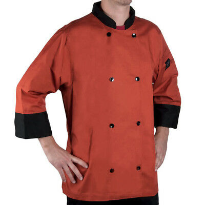 CHEF REVIVAL chef jacket bronze J134SP-XL Cool Crew Fresh size 2x sleeve 3/4