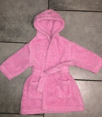 George Baby Girls Dressing Gown 12-18m