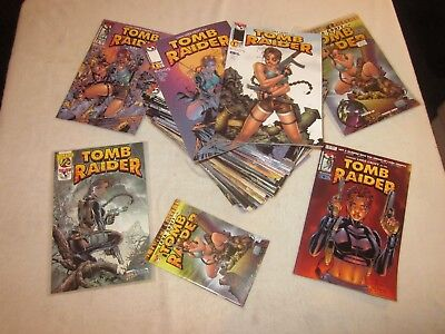 Huge Tomb Raider 1-50 Lot Plus More!!! Witchblade, Dynamic Forces Variants More!