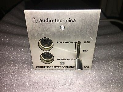 Audio-Technica Model At-706 Stereophone Adaptor
