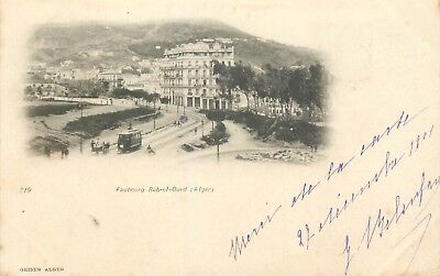 Algerie Alger Faubourg Bab-El-Oued - Tramway