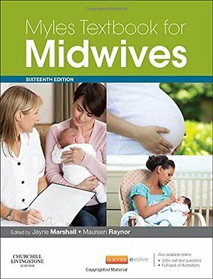 Myles Textbook for Midwives, 16e Paperback – NEW SEALED, FREE EXPRESS DELIVERY