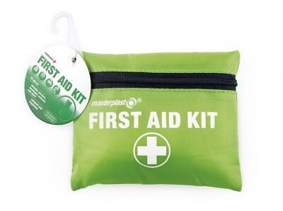 FIRST AID KIT BAG MEDICAL EMERGENCY TRAVEL HOME CAR TAXI WORKPLACE masterplast