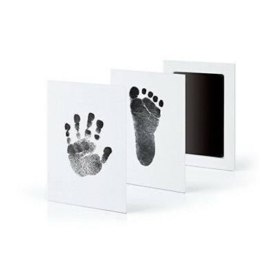 Infant Safe Inkless Touch Handprint & Footprint Ink Pad Non-Toxic Stamp Keepsake