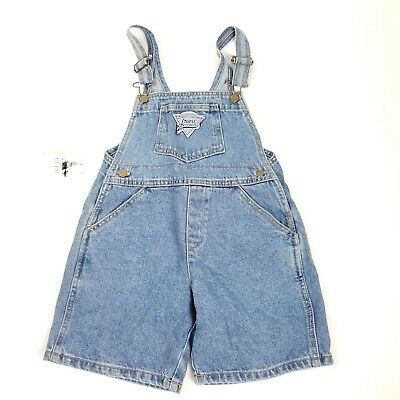 Vintage Baby Guess Overalls Size 4 Y Denim Jean Bibs 90s NWT