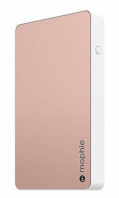 mophie Powerstation Portable Charging Battery 6000mAh w/Two USB Ports, Rose Gold