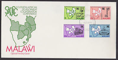 Malawi 1985 FDC illustrated Cover Full Set Southern African Development Conferen