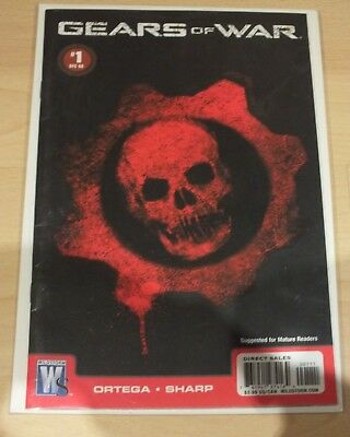 Gears Of War Graphic Comic 💥 1st Edition Rare Comic 💥 Carded And Sealed..