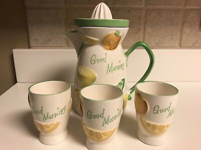 Napco Ware Good Morning Orange Juice Set