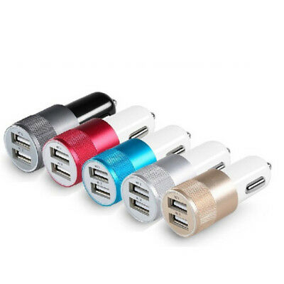 DC 3.1A Portable Mini 2-Port USB Universal Fast Car Charger For Phones laptopSD