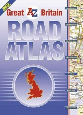 Great Britain Road Atlas (A-Z Road Maps & A... by Geographers' A-Z Map Paperback