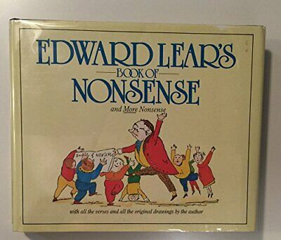 A Book of Nonsense by Lear, Edward Hardback Book The Cheap Fast Free Post