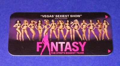 Luxor Hotel Casino Las Vegas 'Fantasy' Room Key Card