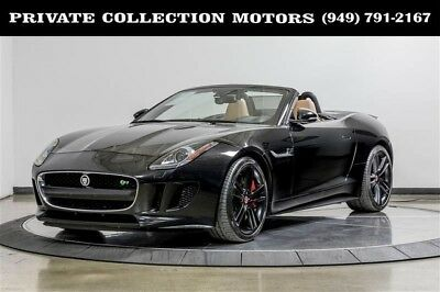 2014 Jaguar F-Type  2014 Jaguar F-TYPE V8 S 2 Owner Clean Carfax Super Clean Local Trade
