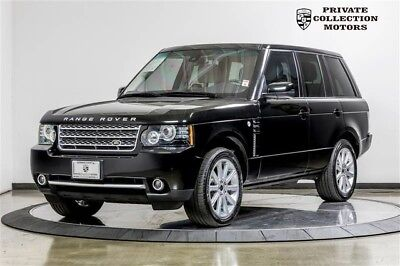 2012 Land Rover Range Rover  2012 Land Rover Range Rover Supercharged Clean Carfax Low Miles