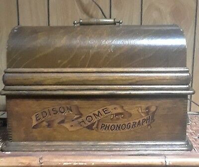 Edison home phonograph works great and in very good condition