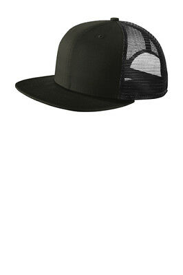 New Era 9FIFTY Mesh Snapback Hat Original Fit Trucker Cap Flat Brim 950  NE403 de6197ad5746