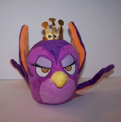 More Angry Birds Stella Gale Plush Purple Queen of Pigs Bendable Tail RARE used