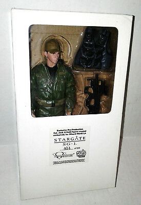 Pre Production Col Jack O Neill Figure Wizard World LA Stargate SG1 #353 of 500