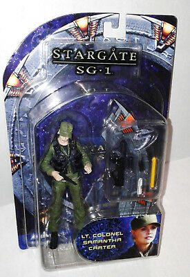 2006 Diamond Select Stargate SG1 Series 2 Lt Colonel Samantha Carter New in Box