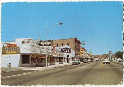 Downtown Street Andy Devine Avenue, Kingman AZ Arizona 1970s