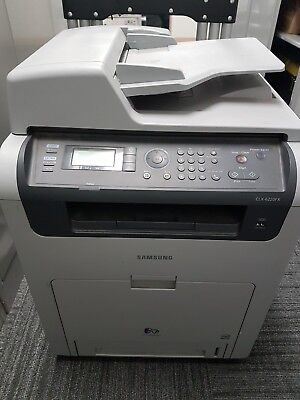 Samsung CLX-6220FX Colour Laser Multifunction Printer & Scanner. Used.