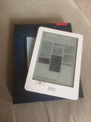 KOBO TOUCH EBOOK Reader N905 2GB Wi-Fi 6in White-purple