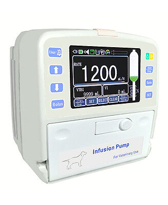 Veterinary Infusion Pump with Fluid Warmer - Small <3#