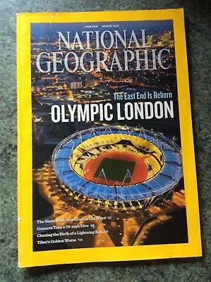 National Geographic August 2012 Olympic London Special Issue