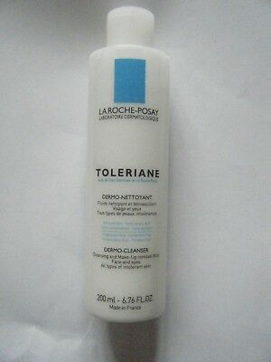 La Roche Posay Toleriane Dermo Cleanser 200 Ml New