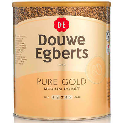 Douwe Egberts Pure Gold Instant Coffee for 470 Cups 750g 257750