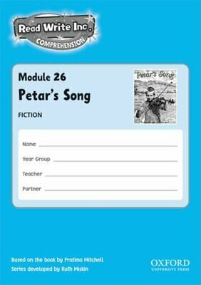 Read Write Inc. Comprehension: Modules 26-... by Munton, Gill Multiple copy pack