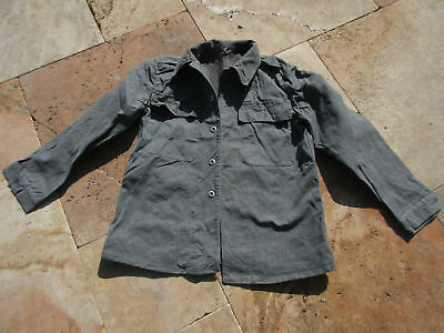 Denim Worker Jacket 17Oz True Vintage Jacket 1950's Heritage Mechanic Swiss Army
