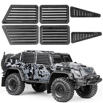 For Traxxas TRX-4 Tactical Unit Body Front/Side Window Armor Guard Shell Frame