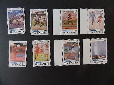 Gambia 1990 Olympic Games Barcelona football  SG1069/76 UM MNH unmounted mint