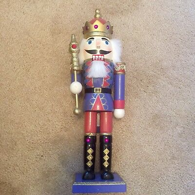 """Nutcracker Limited Edition Manchester Square 13"""" Tall (two Available)👑👑👑👑"""