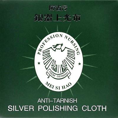 100 x Silver Polishing Cloths Jewellery Cleaning Cloth Clean Polish Sterling