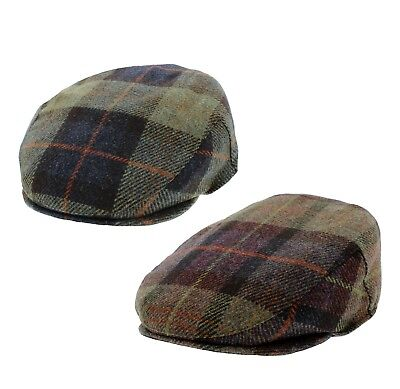 Failsworth Cambridge 100% Wool Country Flat Cap Pattern 207 & 208