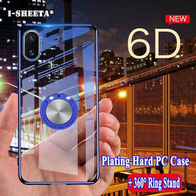 Shockproof For Huawei Honor 10 Play 360° Magnetic Rugged Clear Hard Case Cover