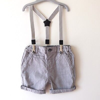 dymples Boys Shorts with braces size 1 ***NEW WITH TAG***