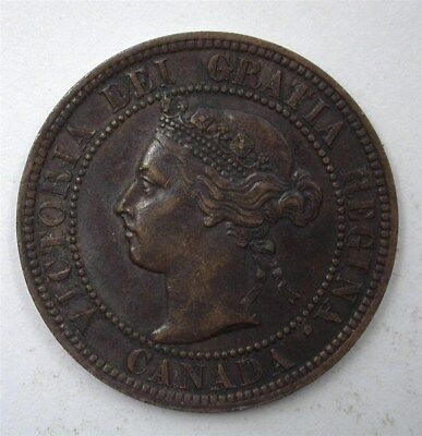 Canada 1899 Large Cent  Nearly Uncirculated
