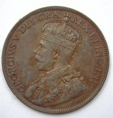 Canada 1915 Large Cent  Uncirculated Br